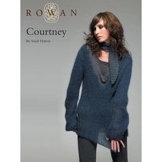 Courtney Jumper and Scarf in Rowan Kidsilk Haze. Discover more Patterns by Rowan at LoveKnitting. We stock patterns, yarn, needles and books from all of your favorite brands.