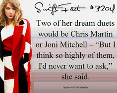 Omg if her and Chris Martin collabbed I would just about fall over and die.