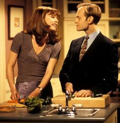 Niles and Daphne - Frasier. One of the great tv love stories :)