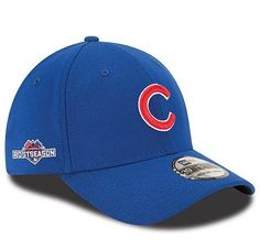 b34e368ac63 Chicago Cubs 39THIRTY Cap with 2015 Postseason Patch