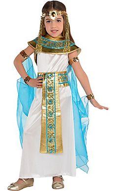 Little Girls Shimmer Cleopatra Costume - Amazing Share Costume Halloween, Halloween Costumes For Girls, Girl Costumes, Dance Costumes, Cleopatra Costume Kids, Egyptian Costume, Egypt Girls, Toddler Costumes, Children Costumes