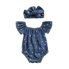 The basket Baby – Basket Baby Baby Outfits Newborn, Baby Girl Newborn, Baby Girls, Baby Girl Romper, Baby Bodysuit, Summer Shorts Outfits, Girl Outfits, Summer Clothes, Chambray