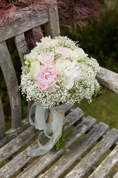 Roses, Gypsophila, Freesia's & Peonies Wedding at Blickling Hall: Rachel & Josh