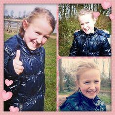 Mijn dochter Jane (mijn eigen foto's). ♥
