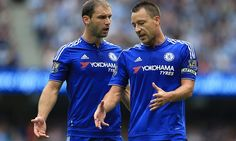Branislav Ivanovic and John Terry must do better soon to win new deals #DailyMail