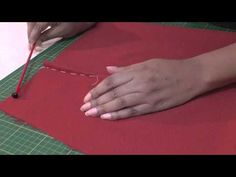 Directional Stitching.  A FREE article, guide and online fashion sewing video tutorial, only at http://www.fashionsewingblog.com