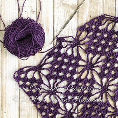 New crochet pattern in work at www.outstandingcr… More Source by tanyaescott < Br > Crochet Motifs, Crochet Stitches Patterns, Crochet Shawl, Knitting Patterns, Knit Crochet, Crochet Crafts, Crochet Projects, Diy Crafts, Confection Au Crochet