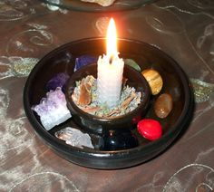 great bowl for a small kitchen altar