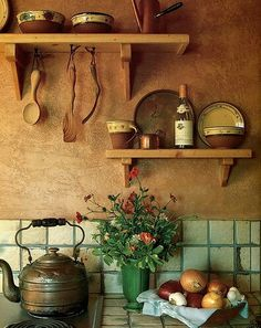 1000 images about al calor de la cocina on pinterest for Earthy kitchen ideas