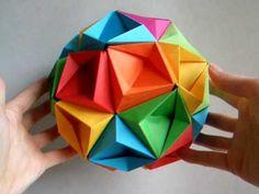 origami - modular - kusudam - my first kusudama - dutchpapergirl