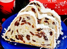 A német gyümölcskenyér, a Stollen már sok helyen kapható, de a bejglihez hasonlóan a házi az igazi. Cookie Recipes, Breakfast Recipes, Recipies, Food And Drink, Yummy Food, Sweets, Cookies, Baking, Ethnic Recipes