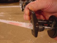 Use this DIYNetwork.com guide to choose the right reciprocating saw for your next project.