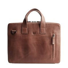 Handmade Roko Men's Briefcase Bag · Brown by Capra Leather Leather Laptop Bag, Leather Briefcase, Bicycle Bag, Briefcase For Men, Work Bags, Leather Men, Brown Leather, Fashion Bags, Shoulder Bag