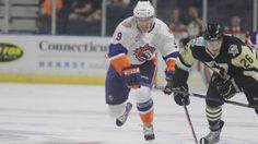 Professional hockey returned to the Nutmeg State last night, but unfortunately for Connecticut hockey fans, neither of the state's American Hockey League teams was able to come away with a victory