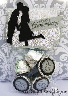 Created by Michelle using Number Candies, Fancy Topper Die, Flag Dies 2 and 3x4 bag. http://jadedblossom.bigcartel.com/