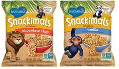 Barbara's Snackimals Animal Cookies 2 Flavor 12 Bag Variety Bundle: (6) Barbara's Chocolate Chip Snackimals Individual Serving Bags, and (6) Barbara's Vanilla Snackimals Individual Serving Bags, 1 Oz. Ea. (12 Bags Total) >>> Want to know more, click on the image.