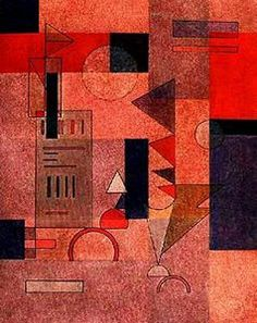 Wassily Kandinsky, Layers. See The Virtual Artist Gallery: www.theartistobjective.com/gallery/index.html