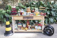 festa infantil meios de transporte lucas santa dica festas inspire-31