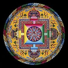 Tibetan Healing Mandala