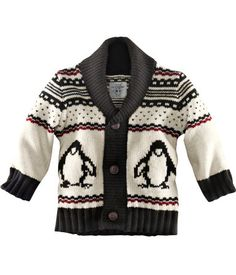 Baby penguin sweater...H&M love!