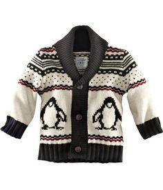 Baby penguin sweater...H&M love!