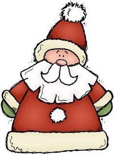 Dibujos papa noel para imprimir Christmas Doodles, Christmas Drawing, Christmas Clipart, Christmas Paintings, Christmas Images, Christmas Printables, Christmas Projects, Holiday Crafts, Christmas Rock