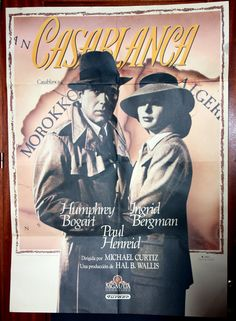Casablanca movie poster limited series by amdevega on Etsy