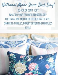 my tips on the well made bed and how to achieve a great night of sleep