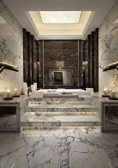 A luxury bathroom will get you halfway to a luxury home design. Today, we bring you our picks for the top bathroom decor ideas that merge exclusive bathroom Dream Bathrooms, Beautiful Bathrooms, Luxury Bathrooms, Mansion Bathrooms, Luxury Bathtub, Modern Bathrooms, Fancy Bathrooms, Master Bathrooms, Pictures Of Bathrooms
