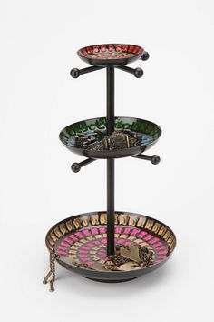 Mosaic Jewelry Stand #UrbanOutfitters Pin A Room, Win A Room Sweepstakes! #smallspace