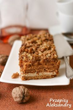 Przepisy Aleksandry: CIASTO SNICKERS Toffee, Banana Bread, Sweet Treats, Deserts, Dessert Recipes, Food And Drink, Cookies, Baking, Layer Cakes