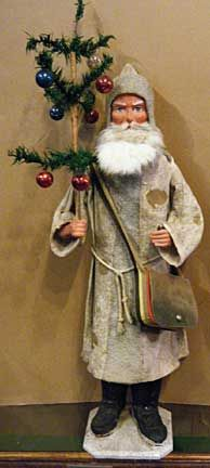 Large German Santa candy container ca.1890-1915
