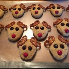 Reindeer Cookies - Allrecipes.com