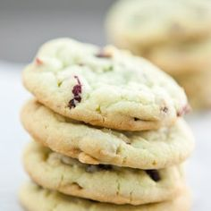 Cranberry Pistachio Pudding Cookies . Or whatever kind of pudding, add ins mis you can dream up!