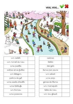 Publishing platform for digital magazines, interactive publications and online catalogs. Title: Veig Veig Paraules, Author: Length: 7 pages, Published: Catalan Language, I Spy, Digital Magazine, What Can I Do, English Lessons, Valencia, Homeschool, Author, Teaching