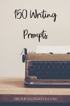 150 Writing Prompts Pin Image, Writing Prompts, Helping Others, Something To Do, Feelings, Writers, Fiction, Sparkle, Christian