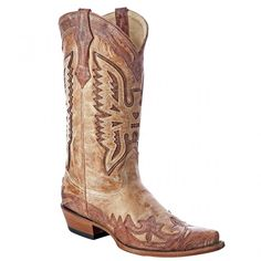 CORRAL DISTRESSED EAGLE INLAY COWBOY BOOTS Cowboy Boots, Eagle, Shoes, Fashion, Zapatos, Moda, Shoes Outlet, La Mode, Eagles