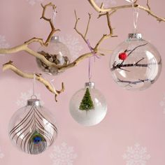 Create a new keepsake with these easy-to-make ornament ideas.