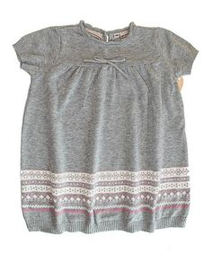Take a look at this Gray & Pink Stripe Dress - Infant, Toddler & Boys by Boutique Collection by Imagewear on #zulily today!
