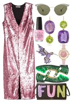 """""""I Like To Have"""" by egordon2 ❤ liked on Polyvore featuring Kate Spade, Toga, Dana Buchman, Renee Lewis, OPI and Ahlem"""