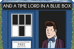 dorkly:  The 12 Days of Doctor Who [Click through for a holiday surprise!]