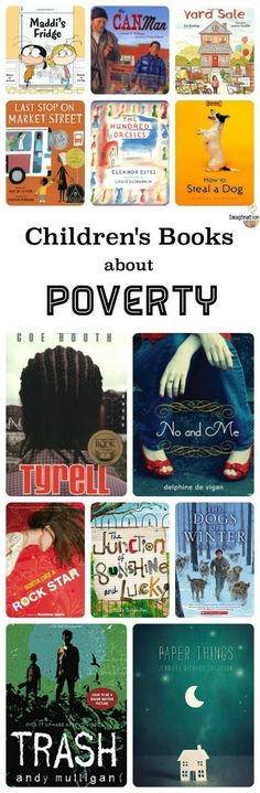 help kids build empathy! List of children's books about poverty.