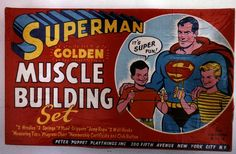 Superman *Golden* Muscle Building