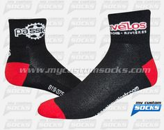 Socks designed by My Custom Socks for Passion Velos T-R in Quebec, Canada. Cycling socks made with Coolmax fabric. #Cycling custom socks - free quote! ////// Calcetas diseñadas por My Custom Socks para Passion Velos T-R en Quebec, Canada . Calcetas para Cyclismo hechas con tela Coolmax. #Cyclismo calcetas personalizadas - cotización gratis! www.mycustomsocks.com