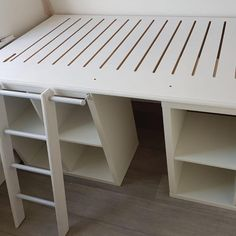 A crafty parent duo created this DIY IKEA bed with storage for their daughter in her small box bedroom for a grand total of just Box Room Beds, Box Bedroom, Room Design Bedroom, Ikea Bedroom, Box Room Bedroom Ideas For Kids, Kids Room, Kids Beds With Storage, Diy Storage Bed, Bedroom Storage