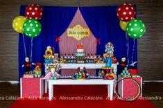 Circus Carnival Birthday Party Theme Kids Boy Girl Clowns