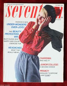 October 1968 cover with Mona Grant