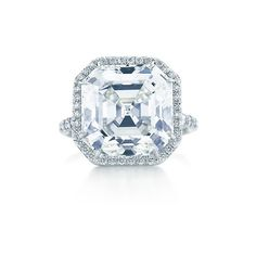 Square Diamond Ring ($950,000) ❤ liked on Polyvore