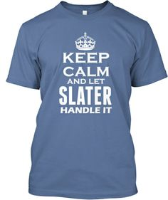 Who are Slaters, get your tee now