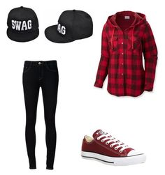 """""""The dark side wwyff Cory part 1"""" by pretty-blueeyes ❤ liked on Polyvore featuring Columbia, Ström, Converse and Ally Fashion"""